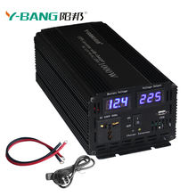 12v 24v 220v UPS 10000 watt modified power inverter with battery charger