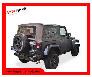 Morbido per Jeep Wrangler (JK) 2 Door 2007-2009