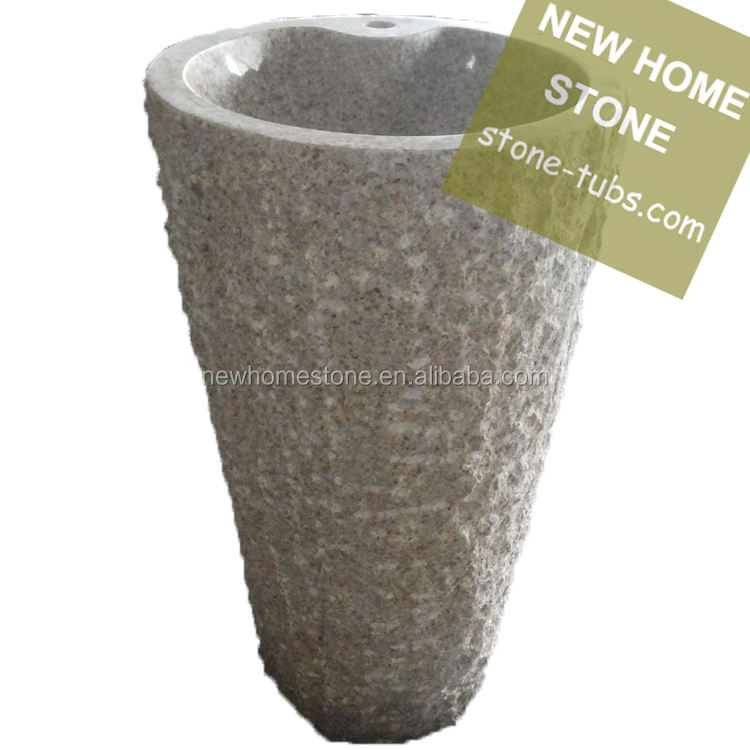 new home stone pedestal outdoor marble sink