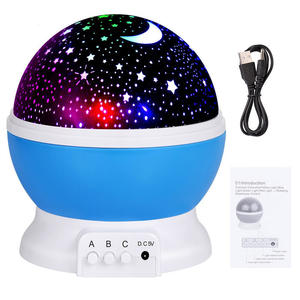Goldmore Baby Night Light Moon Star Projector 360 Degree Rotation