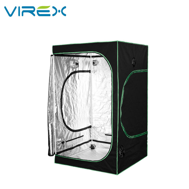 120*120*200CM Hydroponic 600D Mylar Greenhouse Indoor Grow Tent