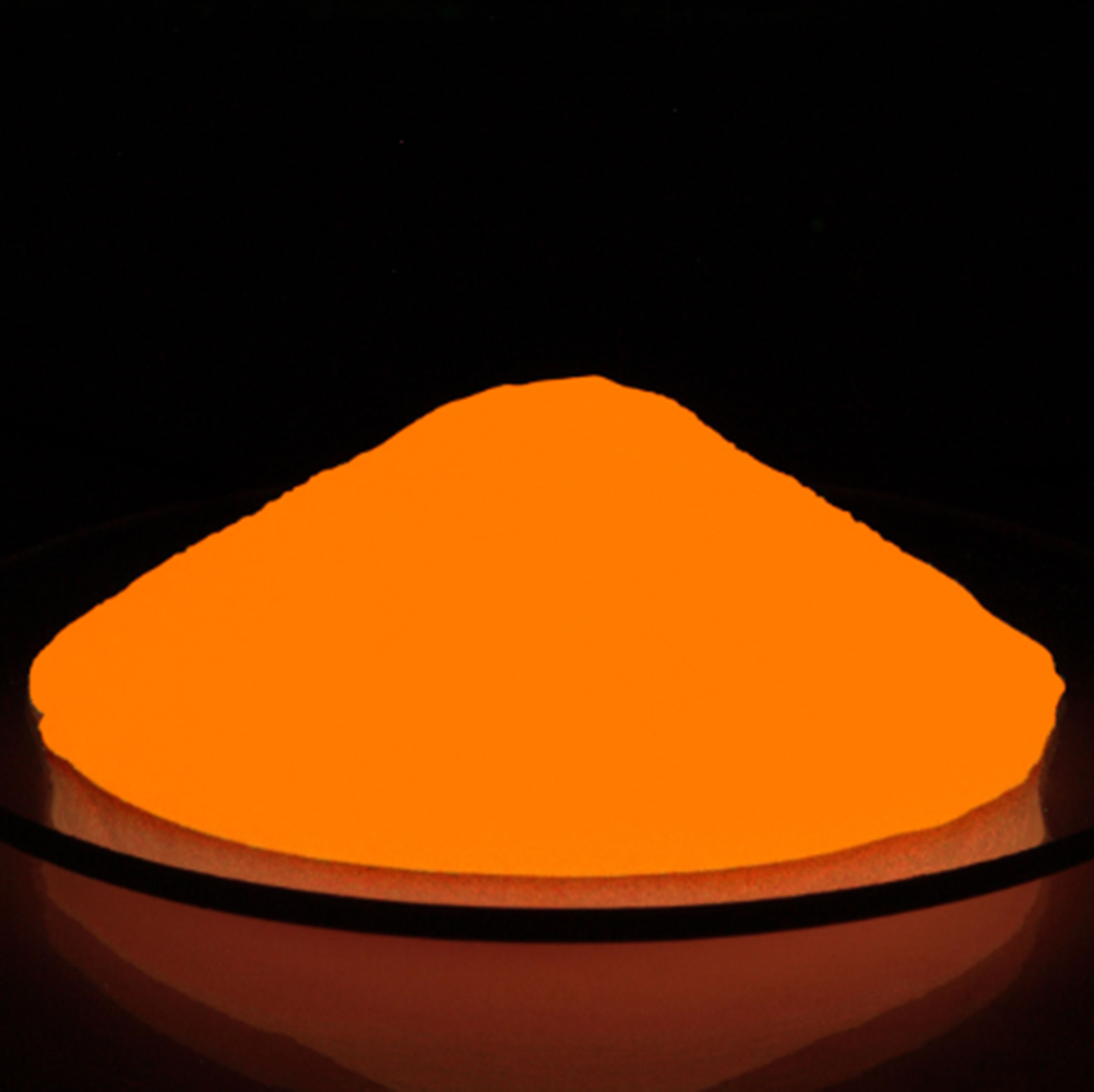 Orange Colorful fluorescent pigment night powder for hair