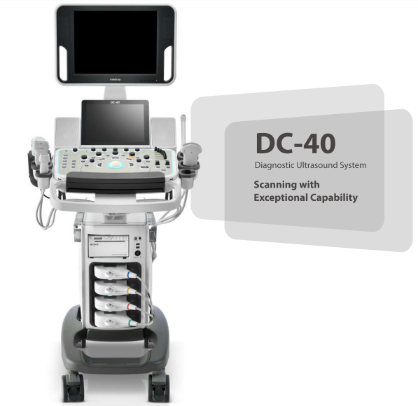 Mesin Ultrasound 4d DC 40 Mingray/Harga Ultrasound Doppler Warna