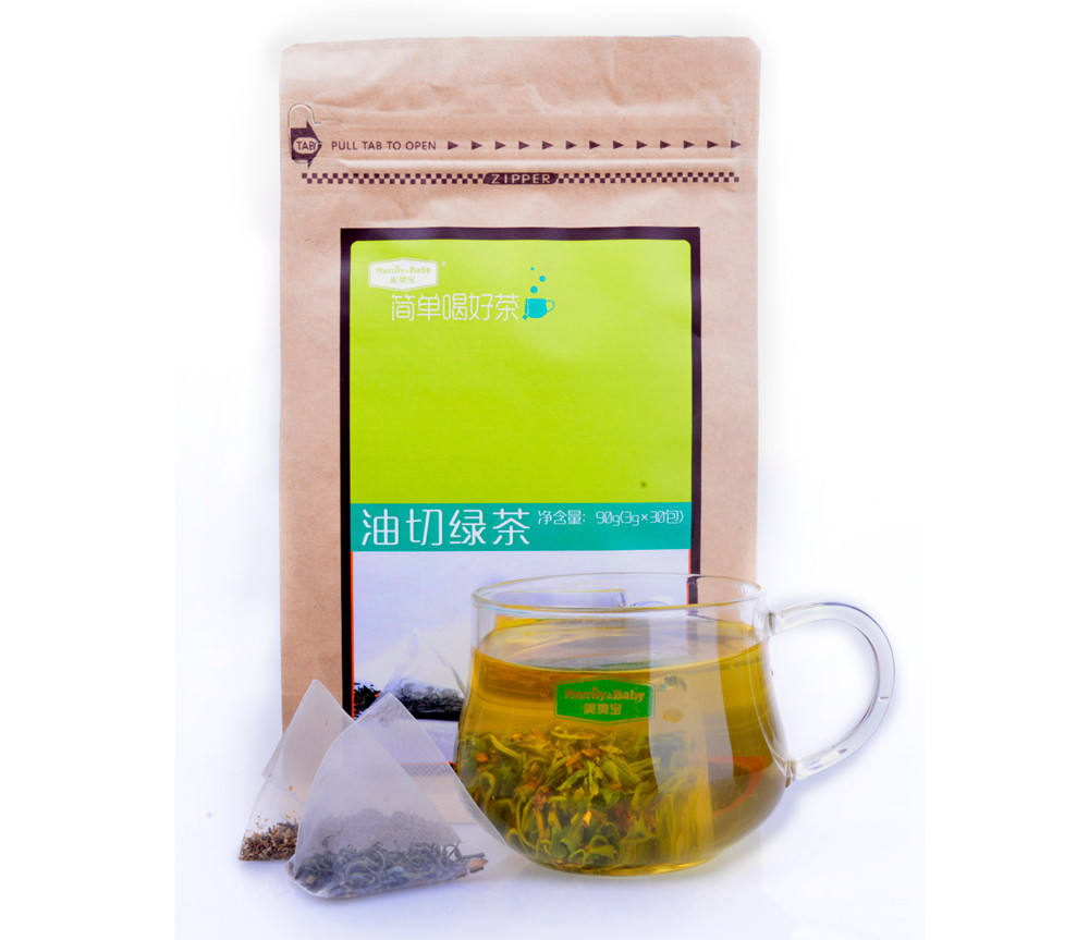 Free sample organic Health Barley Green slim tea product Type for Flat Tummy