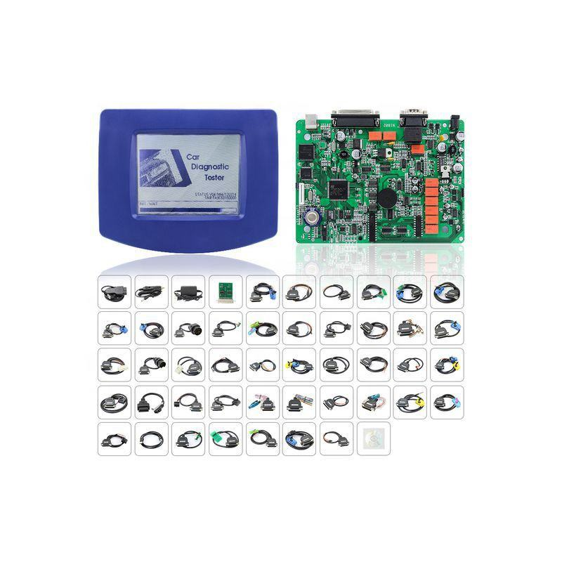Professional Digiprog 3 V4.94 Odometer Master Programmer Entire Kit DP3 45 Cables Full Sets