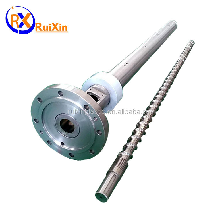 HDPE LDPE LLDPE extrusion machine screw and barrel unit