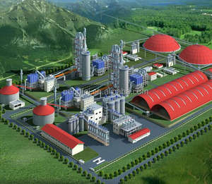 300tpd cement plant professional manufacturer in China