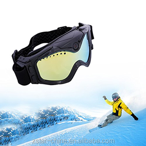 120 Degree Wide Angle HD 720P Camera Motorcycle Goggle