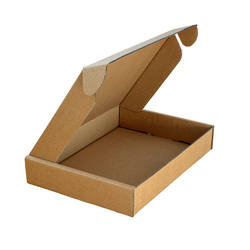Folding carton with Tuck In Flap Brown Cardboard Mailing Postal Box Large Double Walled