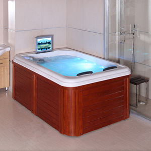 Elegant 2 Person Mini Indoor Hot Tub For Massage And Relaxation Alibaba Com