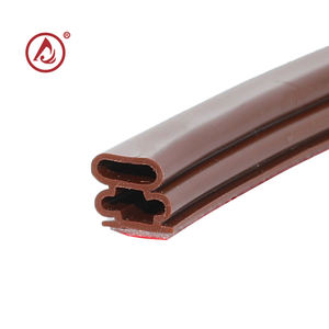 extruded rubber adhesive backed rubber window seal strip material making