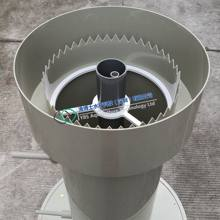 Radial Flow Settler for Recirculating Aquaculture System single fish tank
