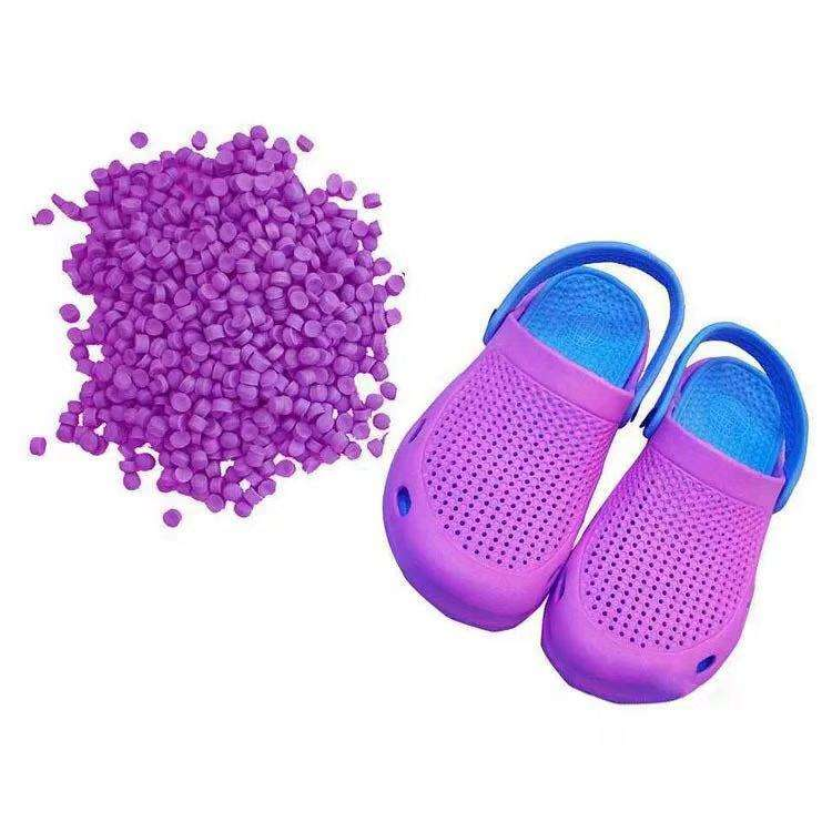 Customized Quality EVA Slipper Shoe Sole and Mat EVA Compound Foaming Granules
