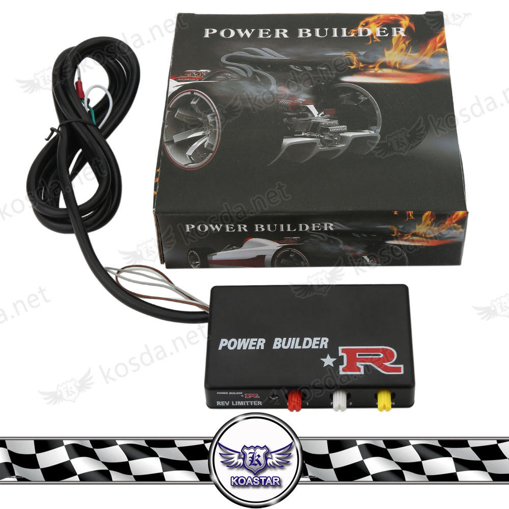 Racing Ignition ประเภท B Power Builder Exhaust Flame Thrower ชุด Rev Limiter ควบคุม