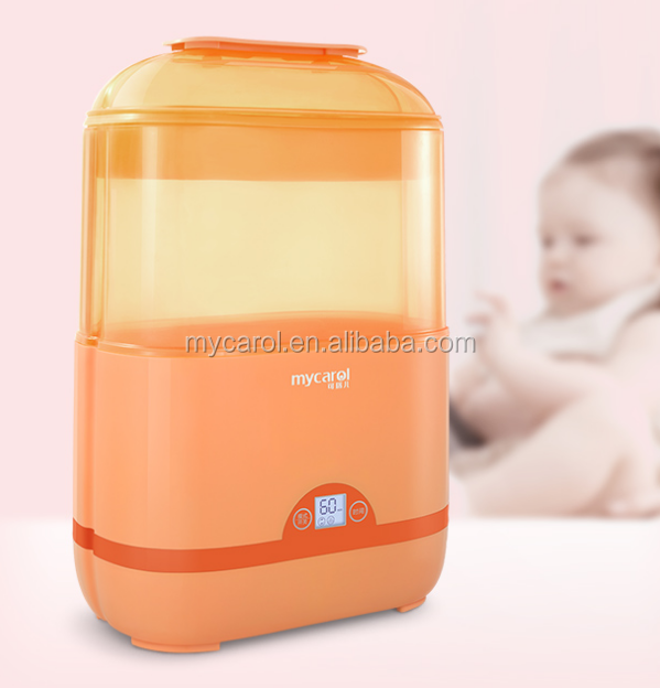 Mul-tifuction LCD Display Baby Feeding Bottle Sterilizer And Dryer Touch Panel Control Timer Baby Sterilizer