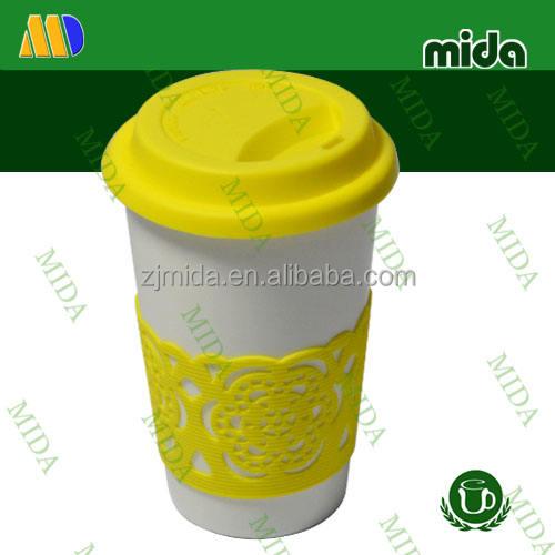 Желтый Крышка starbucks coffee кружка