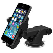 Universal 360 Adjustable Long Arm sticky pad car dashboard phone mount holder