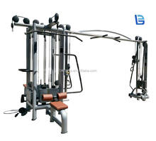 Multi Gym Equipment Indoor Strength Training LB-C57 5 track Station multi jungle/ Multi Function Fitness Machine