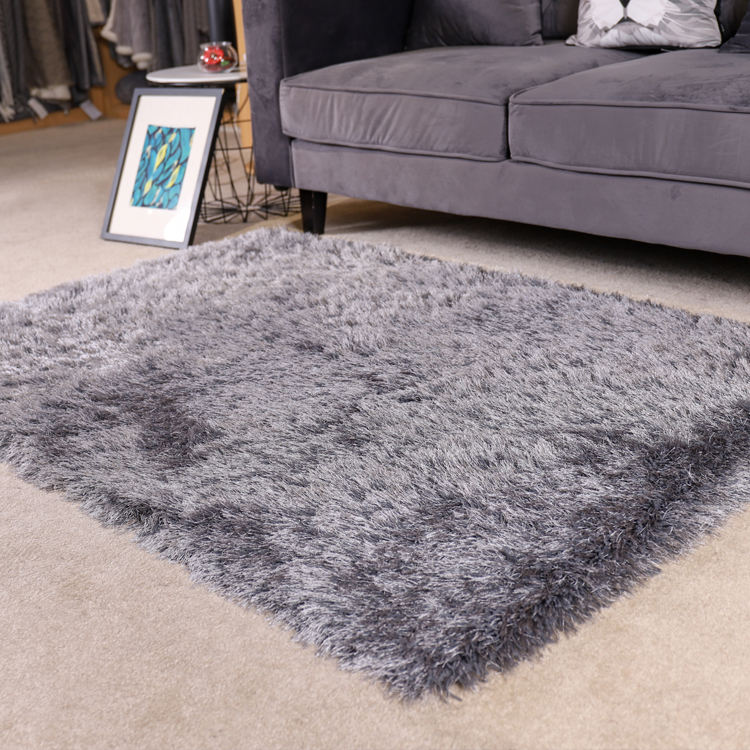 Bon fournisseur gris <span class=keywords><strong>polyester</strong></span> contemporain rectangle 3D <span class=keywords><strong>shaggy</strong></span> zone <span class=keywords><strong>tapis</strong></span> <span class=keywords><strong>tapis</strong></span>