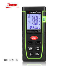 SW-T40 Self-Calibration Laser Measure 0.05-40m Range Mini Laser Distance Meter