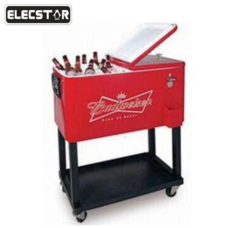 Beverage Drink Rolling Cooler Cart