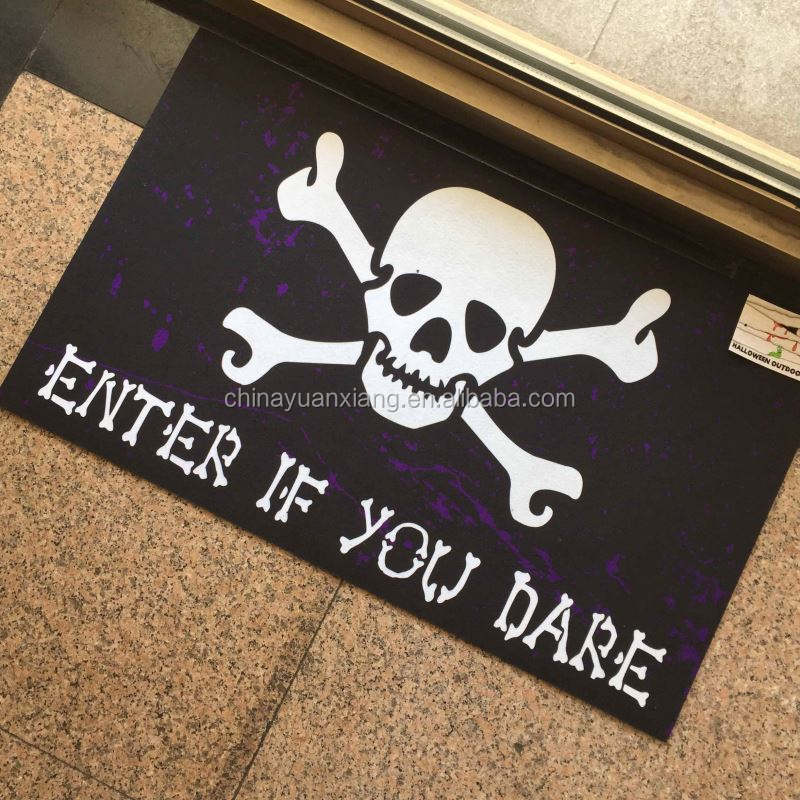 Horrible Sublimation Imprimé Halloween Porte <span class=keywords><strong>Tapis</strong></span>