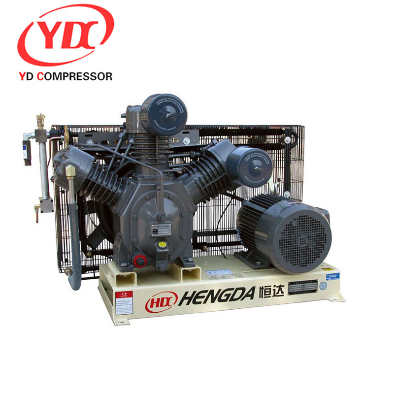 High Pressure air compressor 175 psi 210CFM 580PSI 90HP