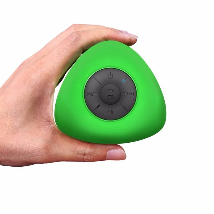 Hot Selling Portable Shower Speaker IPX4 Waterproof Speaker Bathroom Wireless Mini Bluetooth Speaker with Suction Cup