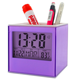 best promotion multifunction alarm clock digital clock with pen holder