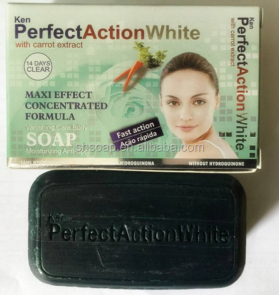 2019 Hot Sale KEN Perfect African Black Strong Whitening Body Soap