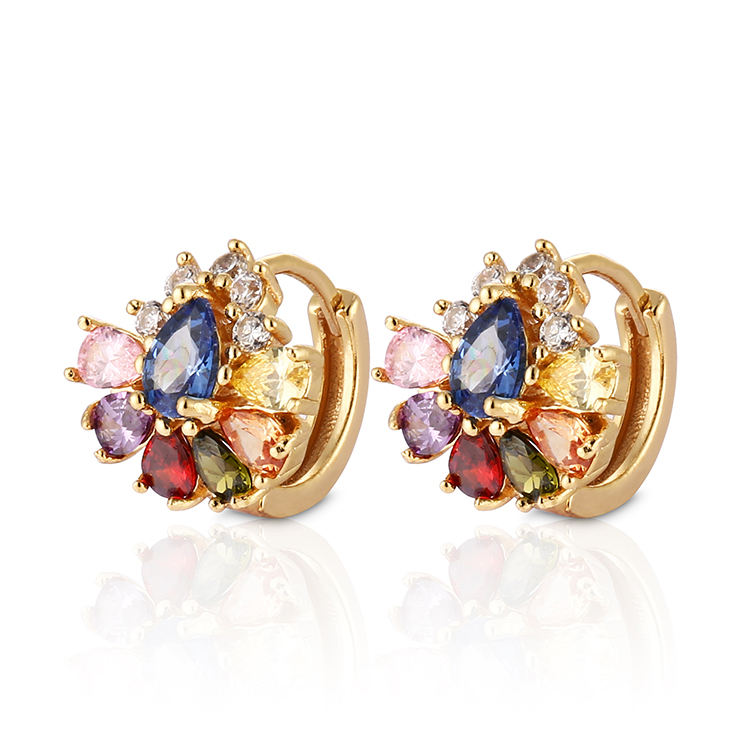 Competitive price turkish gold jewellery designs wholesale earring women