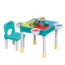 2019 Educational kids learning table building desk toys