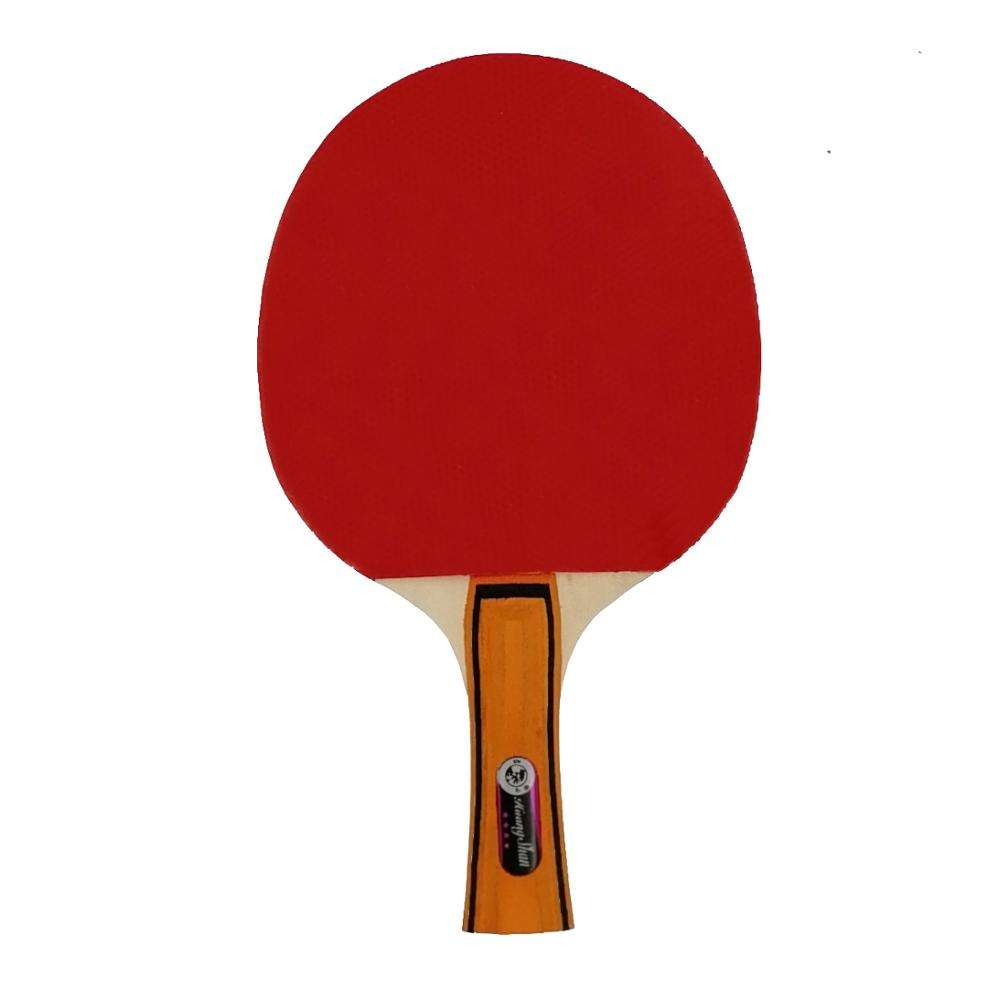 ITTF Approve 4 Star Table Tennis paddle Pingpong Racket with 5 Plyer Wood Paddle Blade