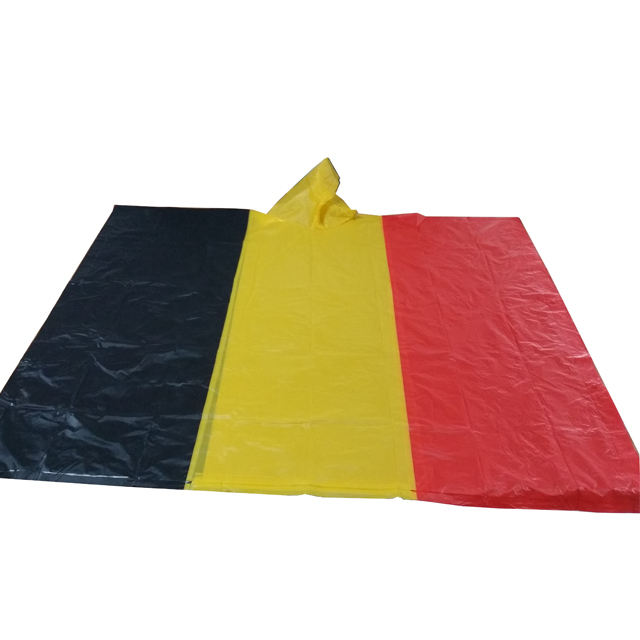 Promotionele <span class=keywords><strong>Vlag</strong></span> regen poncho fabriek direct sales