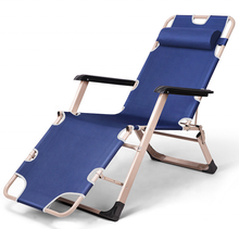 Outdoor folding sun lounge chairs portable beach chaise lounge chair folding recliner chair