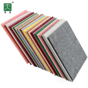 100% polyester acoustic absorbing panels sustainable eco friendly material pet acoustic desk privacy divider
