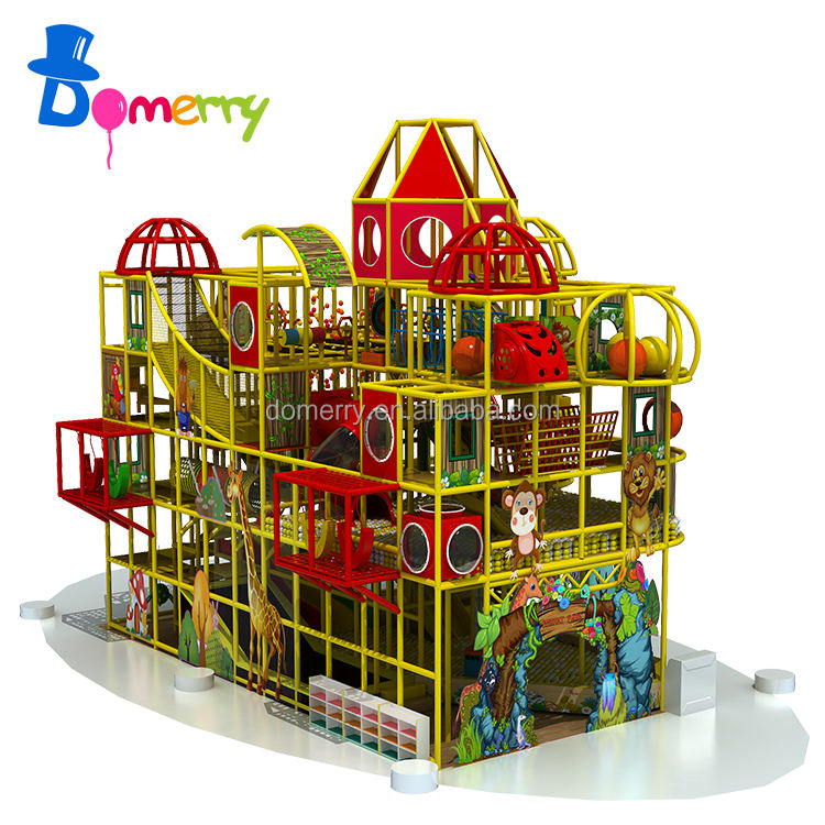 Amusement park inflatable big safe children indoor playground