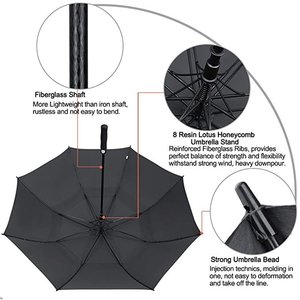 Cute Little Fox Looks At You Silly Compact Travel Umbrella Windproof Reinforced Canopy 8 Ribs Umbrella Auto Open And Close Button Customized
