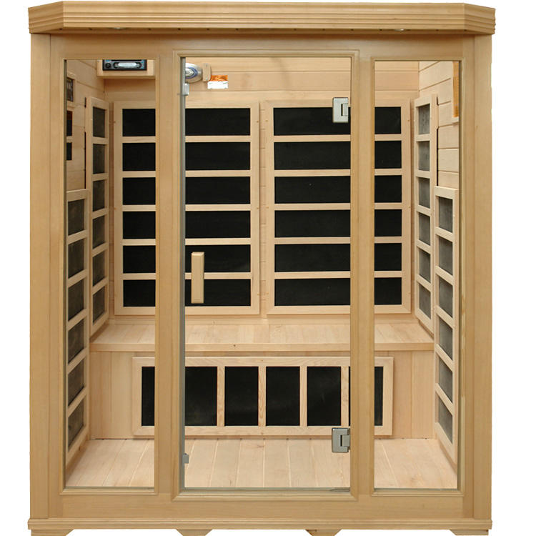 Classic design cheap price far infrared sauna rooms with carbon heater