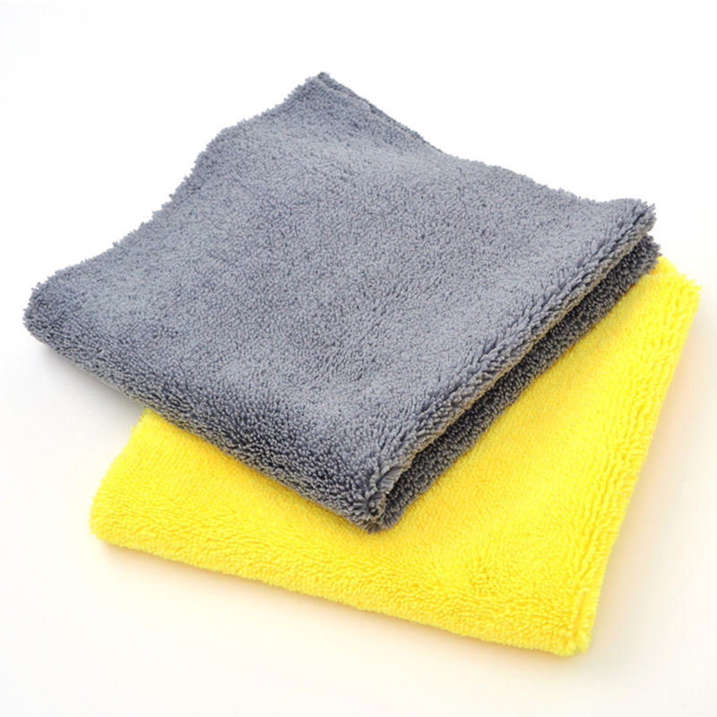 Auto super cleaning cloth 80% polyester 20% polyamide microfiber towel for car