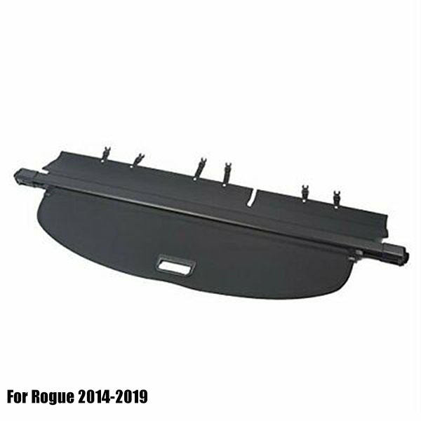 Retractable Trunk Cargo Cover Security Shield for Rogue 2014-2019