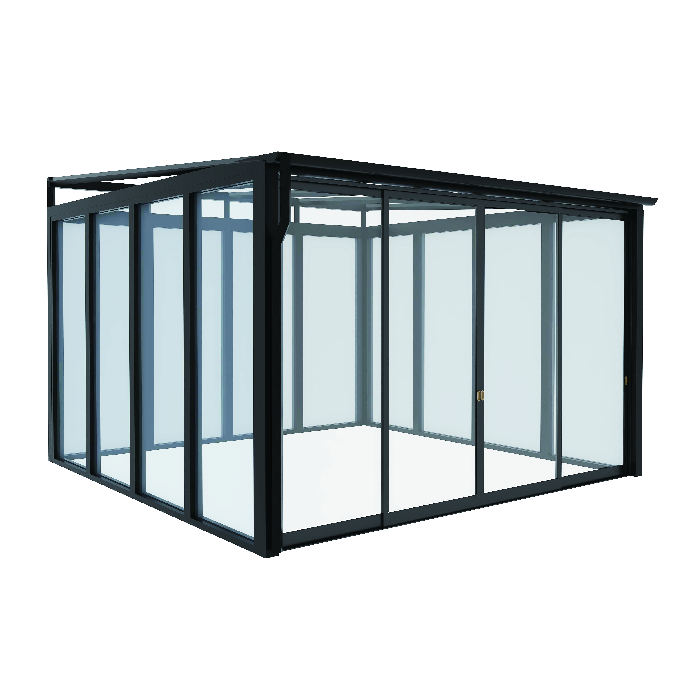 High quality aluminum alloy sunroom sets glass house garden sunroom aluminium summer sunrooms & glass housesus