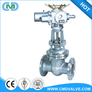 A351 CF8 DN100 PN16 Class 300 Bolt Bonnet Motor Operated Gate Valve with Price