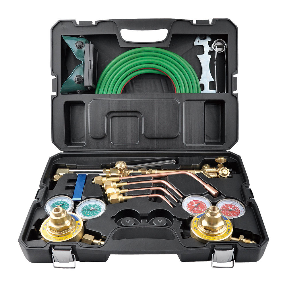 Portable Heavy duty regulator welding kit welding set