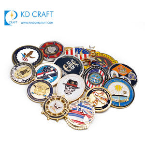 Made In China Gepersonaliseerde Custom Metalen 3d Zinklegering Zacht Email Militaire Leger Souvenir Coin Voor Verkoop