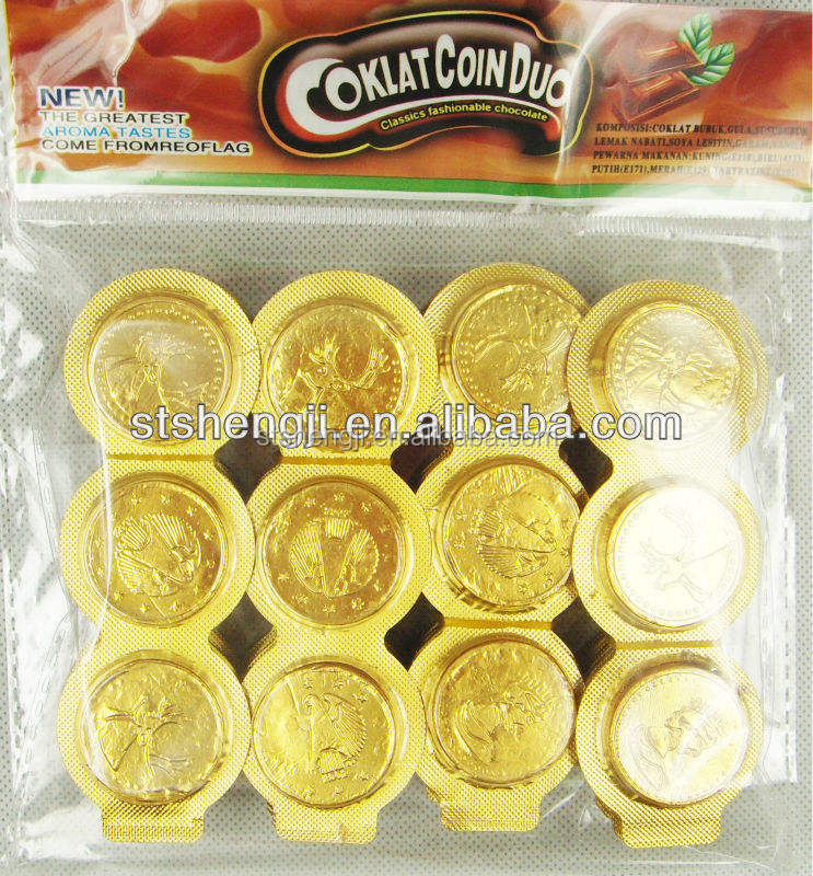 3 in 1 Golden Chocolade Coin