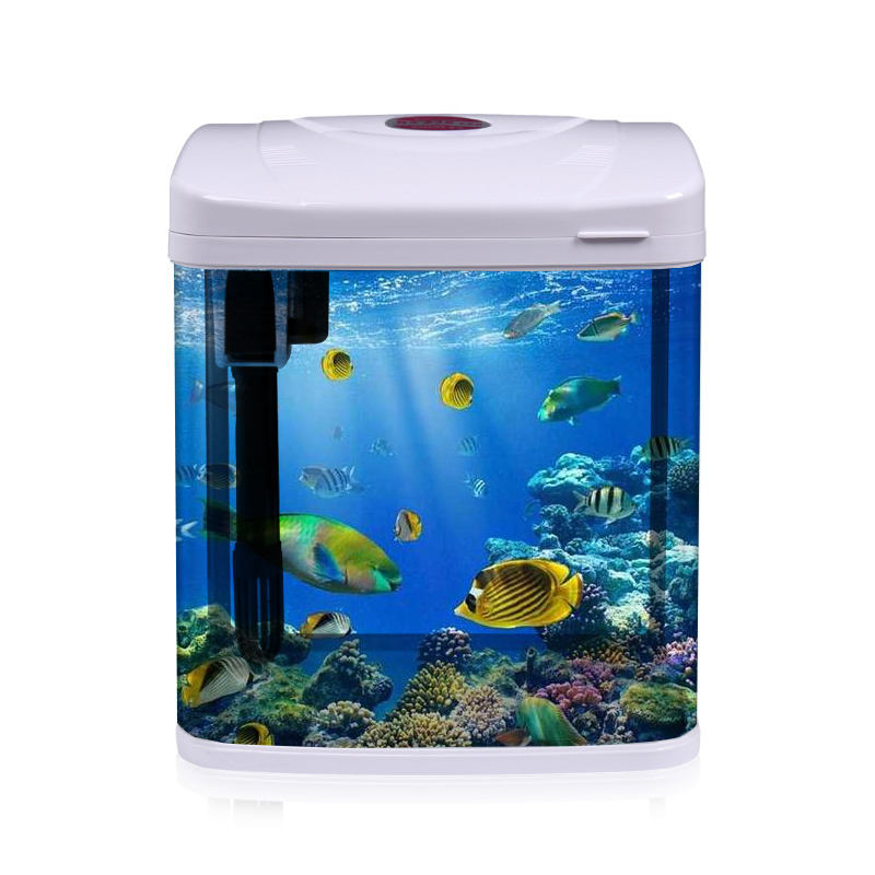 New design pet tea table corner fish tank aquarium with great price