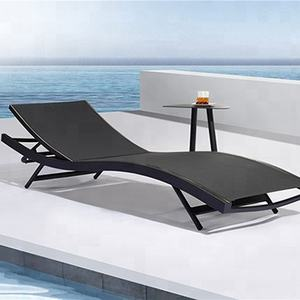 mesh lounge chair outdoor furniture swimming pool sun bed