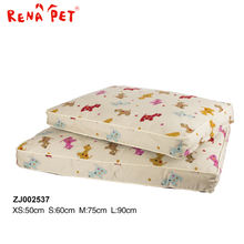 Fashion Design Car Linen Acrylic Dog Bed