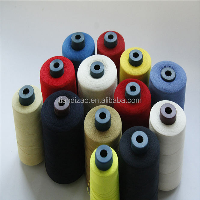 100%Meta aramid sewing thread ,fire retardant sewing thread for flame retardant clothing
